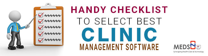 Checklist for Selecting the Best Clinic Management Software