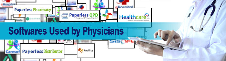 What are latest software used by Physicians to streamline their Practice?
